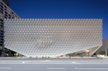 the broad museum facade