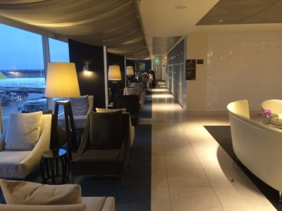 Qatar Airways Premium Lounge Heathrow review