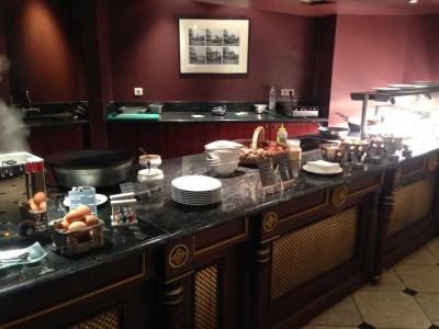 le grand hotel breakfast