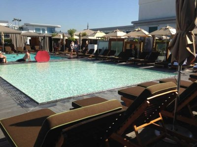 sls hotel at beverly hills los angeles review pool