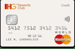 IHG Rewards Club credit card free