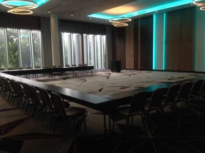 hilton tallinn park review ballroom