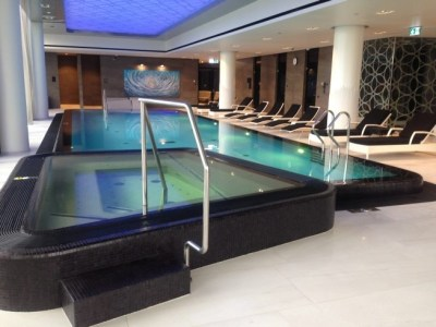 hilton tallinn park spa review swimming pool jacuzzi