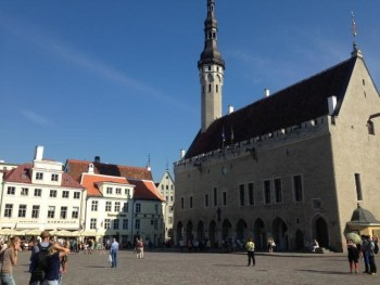 tallinn estonia town hall