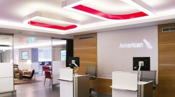 American Airlines Heathrow Arrivals Lounge t3