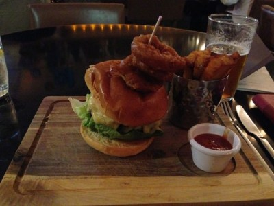 aloft liverpool NYL food burger