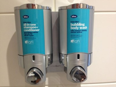 aloft liverpool hotel review bathroom toiletries