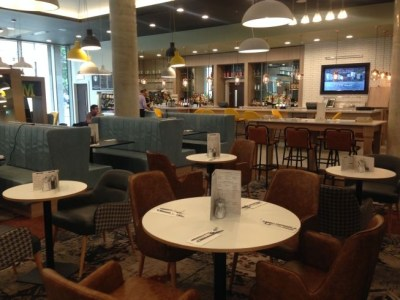 holiday inn manchester city centre review lounge restaurant bar