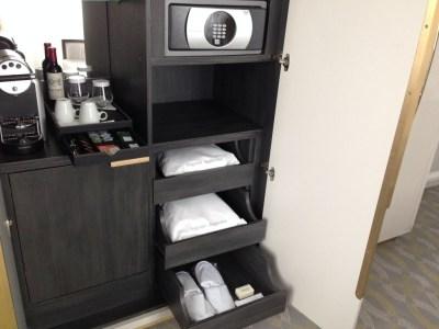 hilton-paris-opera-room-nespresso-machine-slippers-robe-wardrobe