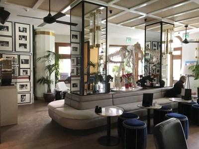 Gran Hotel Montesol Curio Hilton Ibiza bar entrance hal