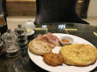 Gran Melia Palacio De Los Duques Madrid Breakfast spanish omelette