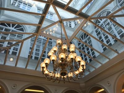 Gran Melia Palacio De Los Duques Madrid Original lamp