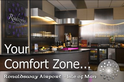 rendezvous airport lounge isle of man ronaldsway airport