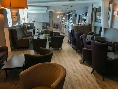 Aspire plus lounge Newcastle Airport seating