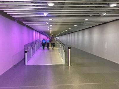 British Airways Galleries lounge Heathrow Terminal 5B satellite