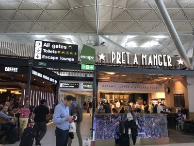Escape Lounge Stansted Airport review 1