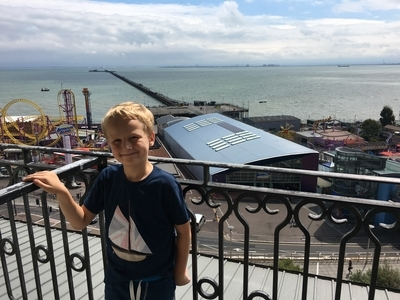 Park Inn Southend review balcony