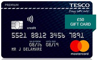 Tesco Premium Credit Card £50