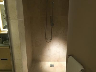 Conrad New York shower review