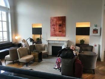Eurostar Paris Business Premier lounge 1