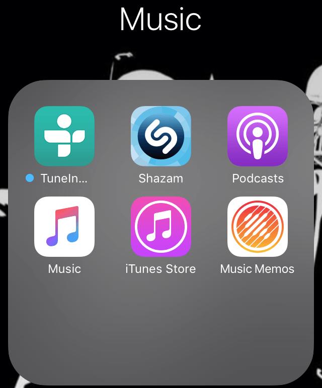 musica tecnologia app apple