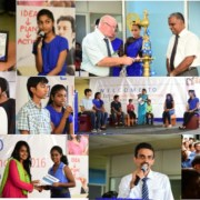 Award ceremony at Headway Ja-ela