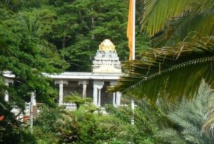 Temple in Natural Setting
