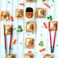 Samosa Wontons Recipe (Vegan)