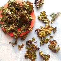 Kale Chips Recipe Using Sriracha Sauce
