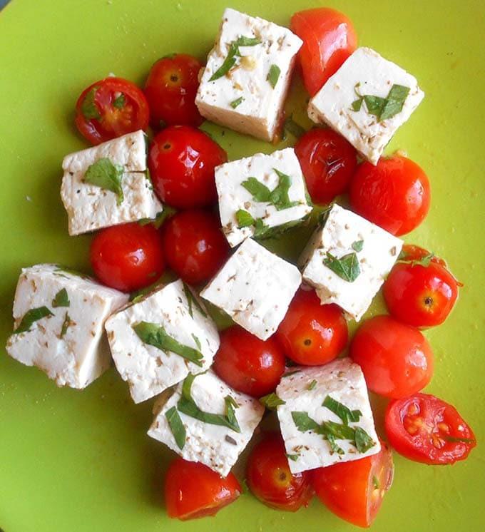 Vegan Feta Cheese - Homemade