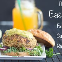 Falafal Burger Recipe