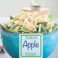 Apple Chips Using Granny Smith Apples (Oven-baked)