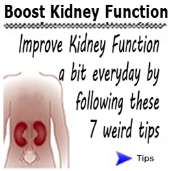 Boost kidney function