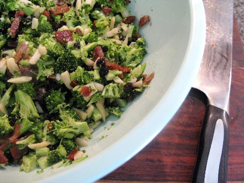 Paleo Broccolini with Almonds