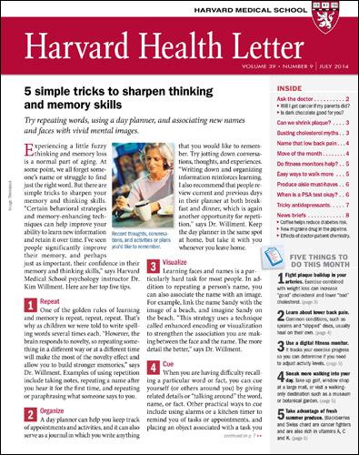 Harvard Health Subscriptions - Harvard Health