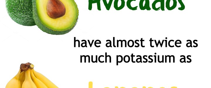 Did You Know… Avocados vs. Bananas