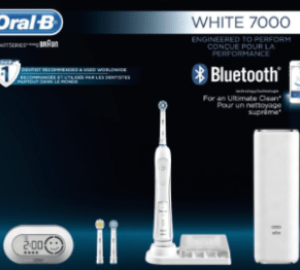 Oral B WHITE 7000 SmartSeries Best Electric Toothbrush