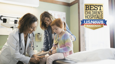 US News and World Report Ranks Top Children's Hospitals