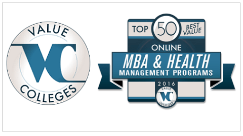 Top 50 Best Value Online MBA and Health Management Programs of 2016