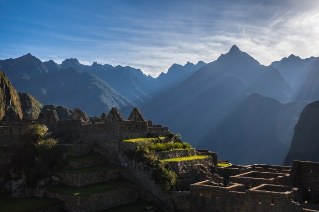 Machu Picchu, South America, Peru.