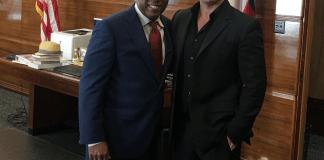 samir becic and mayor sylvester turner Houston Health