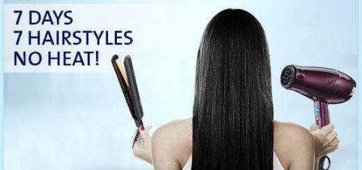 7 Heat free Hairstyles