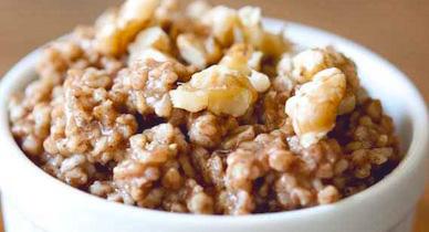 gingerbread oatmeal