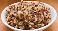 cherry quinoa porridge