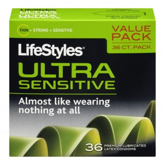 Buy LifeStyles Ultra Sensitive Premium Lubricated Latex ...