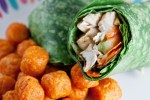 sesame ginger chicken wrap-3