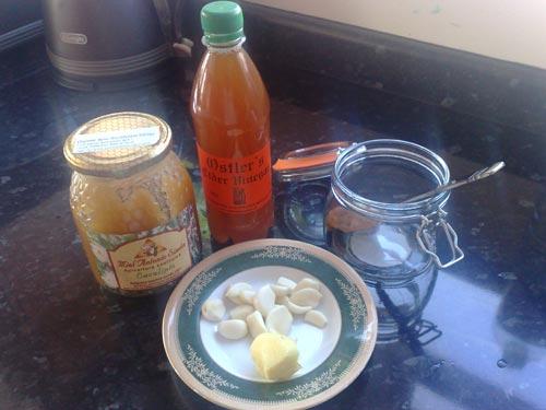Яблочный уксус мед чеснок настойка отзывы