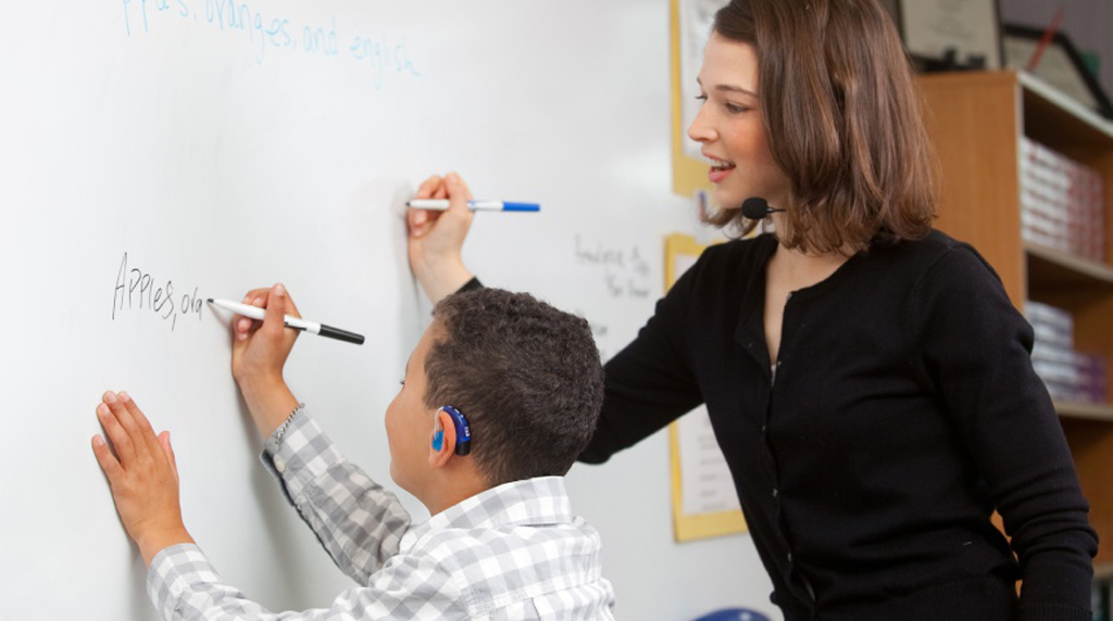 Teaching a Child with Hearing Loss