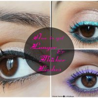 How To Grow Long & Thick Eyelashes Naturally with Home Remedies!