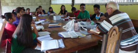 Training of Palawano Young People